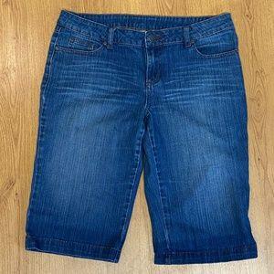 PrAna denim Bermuda shorts